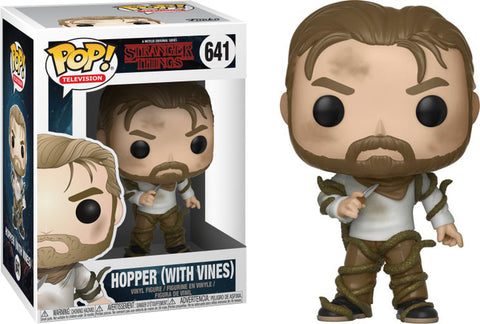 Funko Pop! Television Stranger Things #641 Hopper (with Vines)