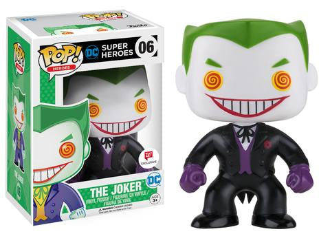Funko Pop! Heroes DC Super Heroes #06 The Joker (Black Suit) Walgreens Exclusive