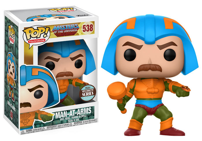 Funko Pop! Television Masters of the Universe #538 Man-At-Arms Specialty Series Exclusive