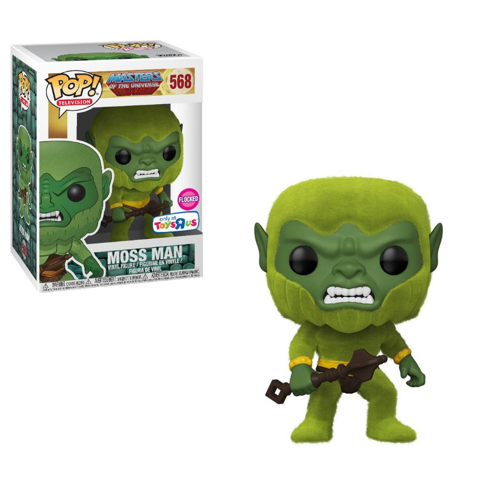 Funko Pop! Television Masters of the Universe #568 Moss Man (Flocked) Toys R Us Exclusive