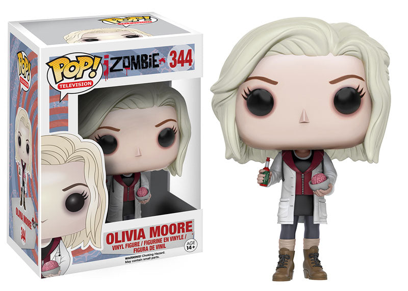 Funko Pop! Television iZombie #344 Olivia Moore with Brains
