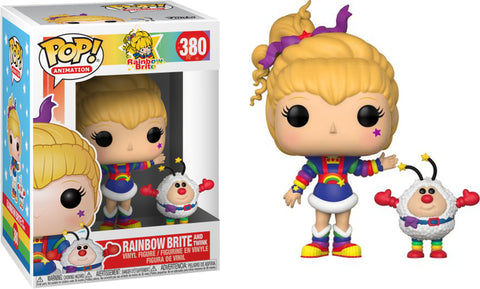 Funko Pop! Animation Rainbow Brite and Twink #380