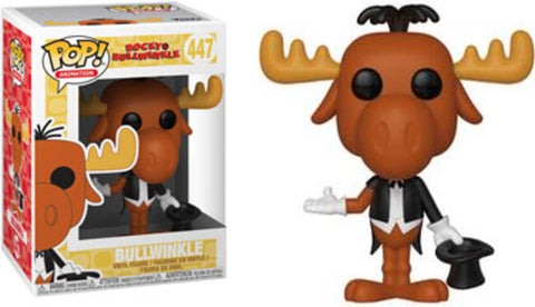 Funko Pop! Animation Adventures of Rocky & Bullwinkle #447 Bullwinkle (Magician)