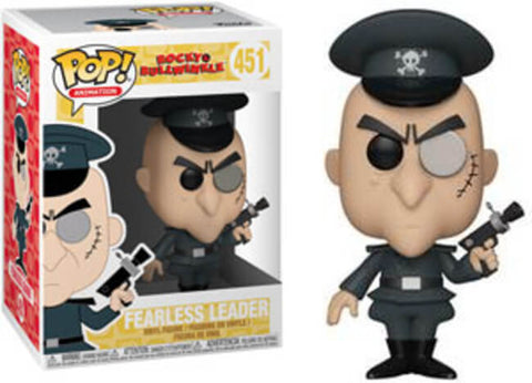 Funko Pop! Animation Adventures of Rocky & Bullwinkle #451 Fearless Leader