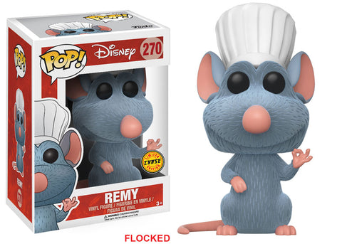 Funko Pop! Disney Ratatouille #270 Remy (Flocked) Limited Edition Chase