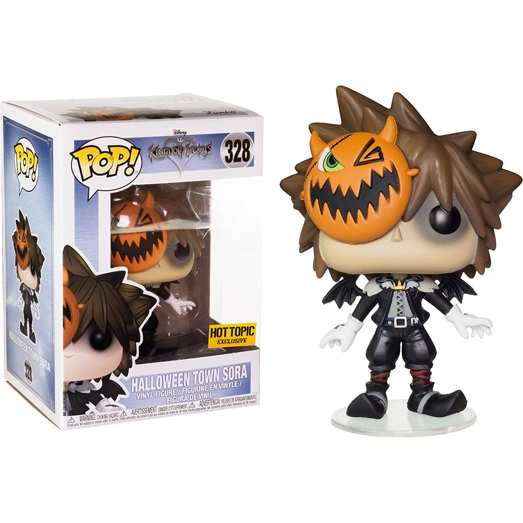 Funko Pop! Disney Kingdom Hearts #328 Halloween Town Sora Hot Topic Exclusive