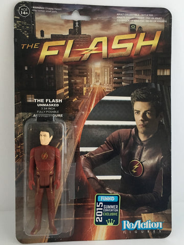 Funko ReAction Figure Flash (Unmasked) SDCC Exclusive