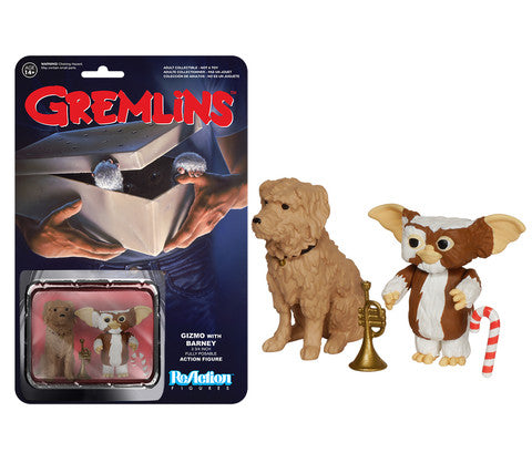Funko ReAction Figure Gremlins - Gizmo with Barney