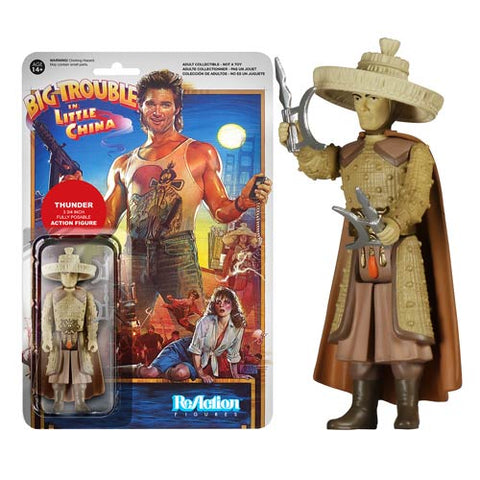 Funko ReAction Figure Big Trouble in Little China - Thunder