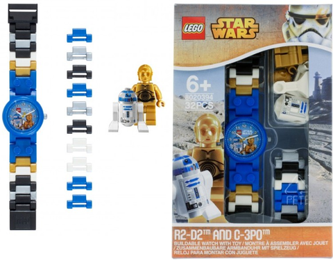 LEGO Star Wars 8020394 R2-D2 & C-3PO Buildable Watch