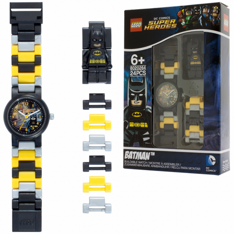 LEGO DC Comics Super Heroes 8020264 Batman Buildable Watch