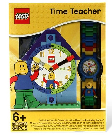 LEGO Time Teacher 9005008 Buildable Watch, Demonstration Clock & Activity Cards