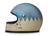 DMD ARTIC HANDMADE FULL FACE HELMET (SIZE: MEDIUM)