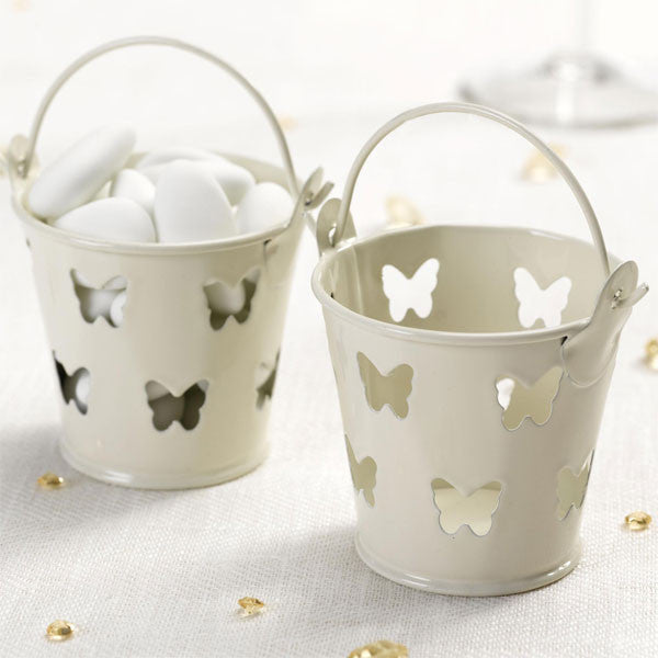 Butterfly Gold/White Pails