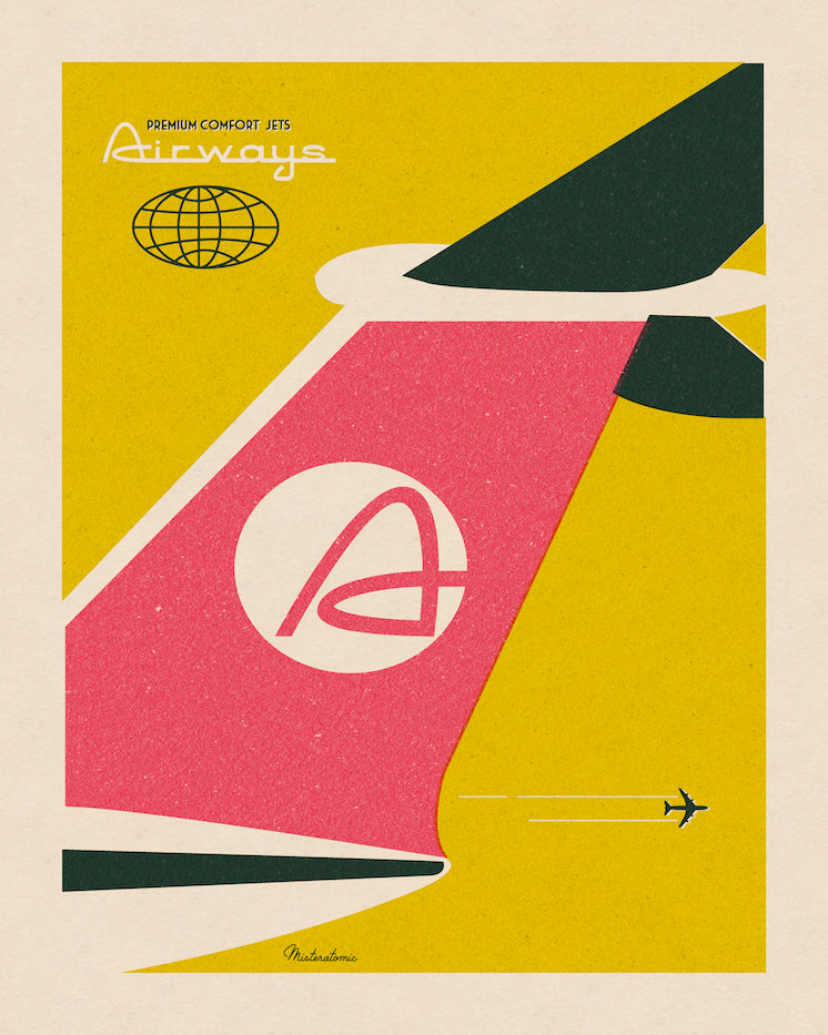 Affiche déco 'Airways'