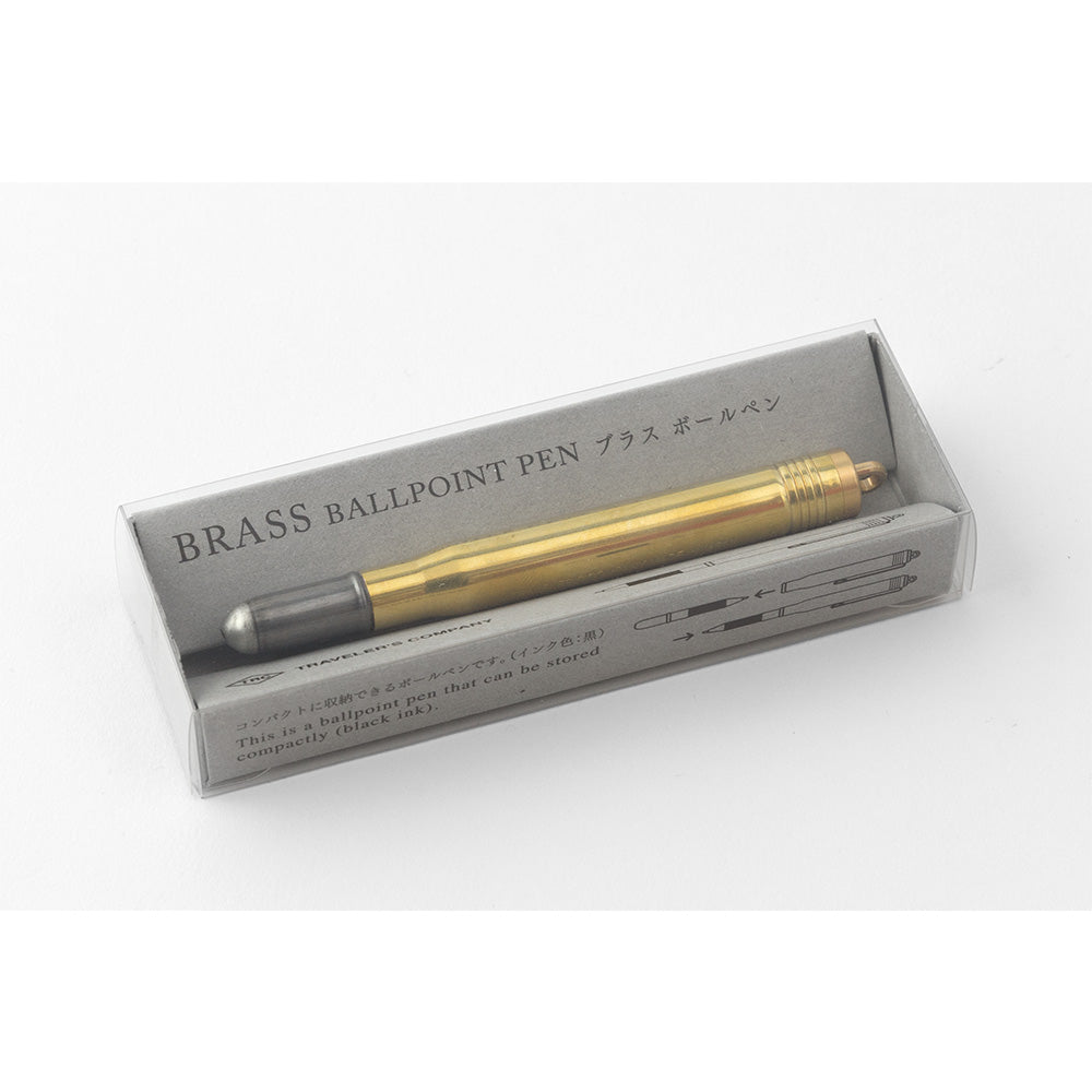 Traveler's Company - BRASS - Stylo bille - laiton