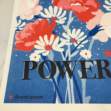 Affiche déco 'Flower Power'