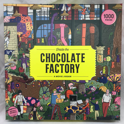 Puzzle 'Inside the Chocolate Factory' - 1000 pièces
