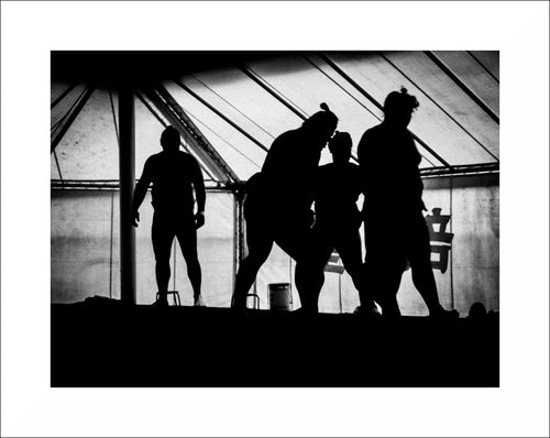 Photo 'Sumo silhouettes'