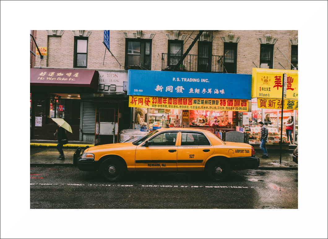 Photo 'Yellow cab in China town'