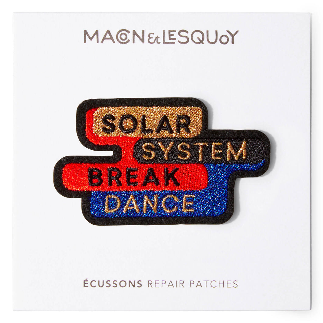 Ecusson Macon & Lesquoy 'break dance'