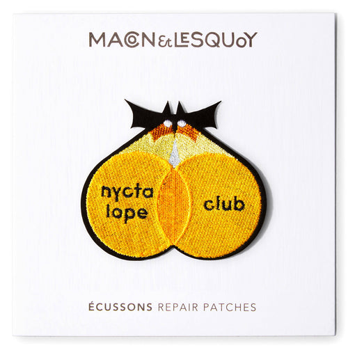 Ecusson Macon & Lesquoy 'nyctalope club'