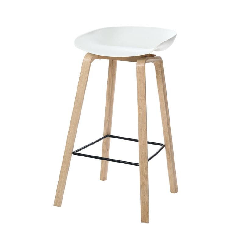 Eames Style Low back Bar Stool - Fervor + Hue