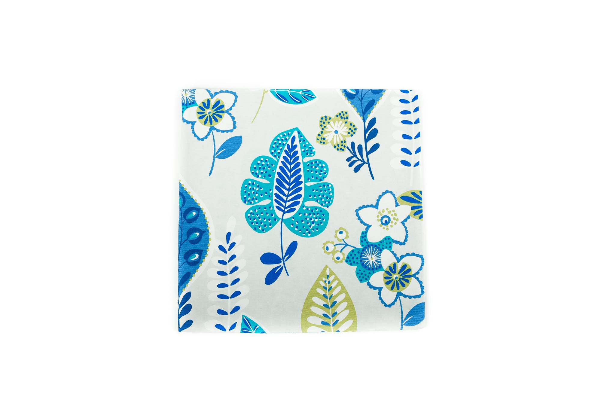 Abstract Floral-Blue Green - Cover only - Fervor + Hue