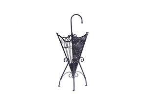 Metal umbrella stand black - Fervor + Hue