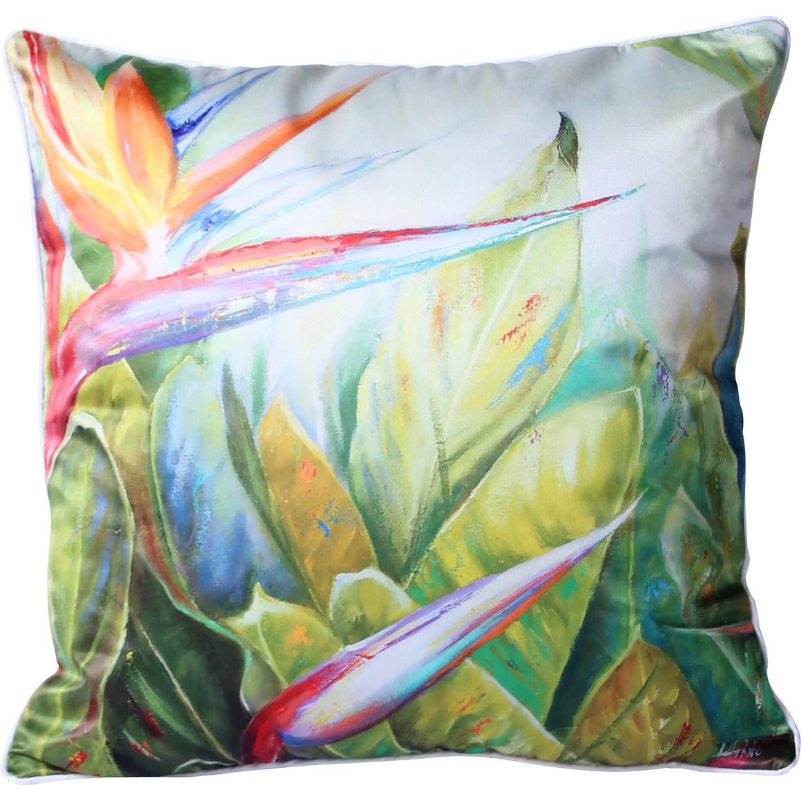 Botanical Paradise Garden Cushion