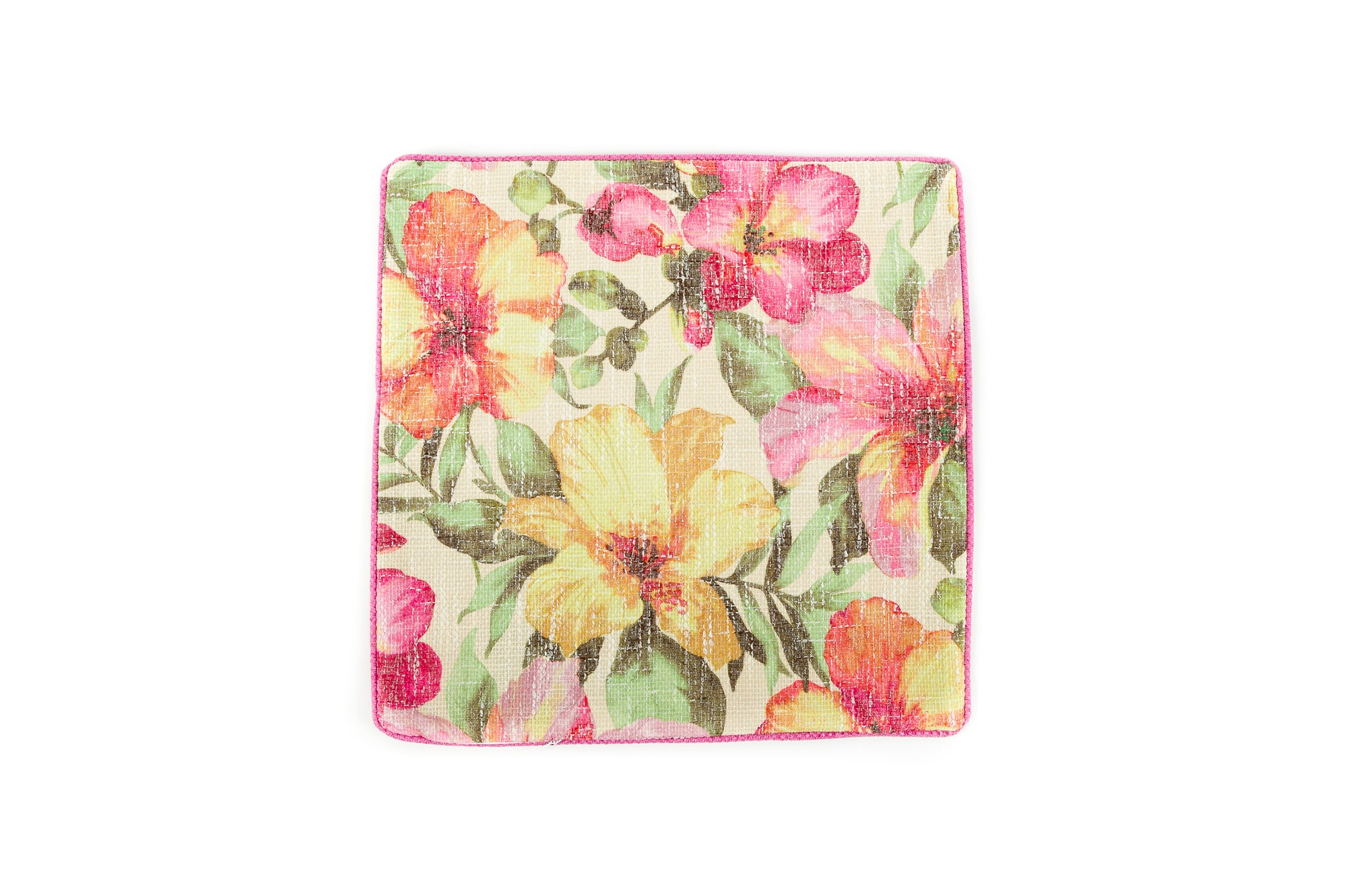 Candy Pink Floral - Cover Only - Fervor + Hue