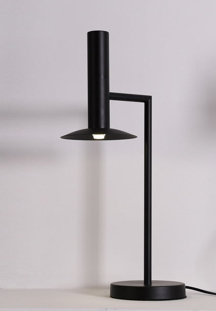 Top Hat Table Lamp Black - Fervor + Hue