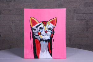 Purr Fect Oil Painting