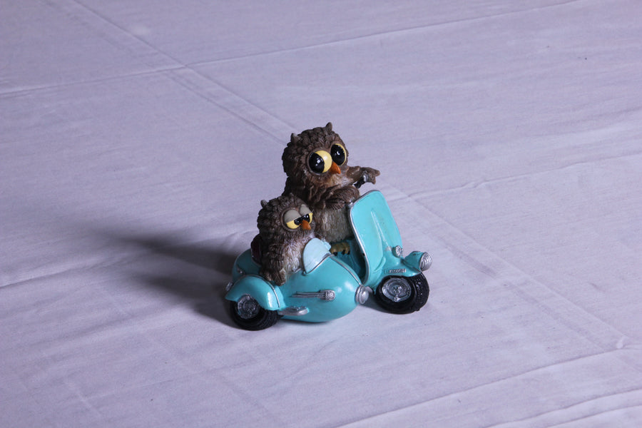 Mini Biker Owl Pair