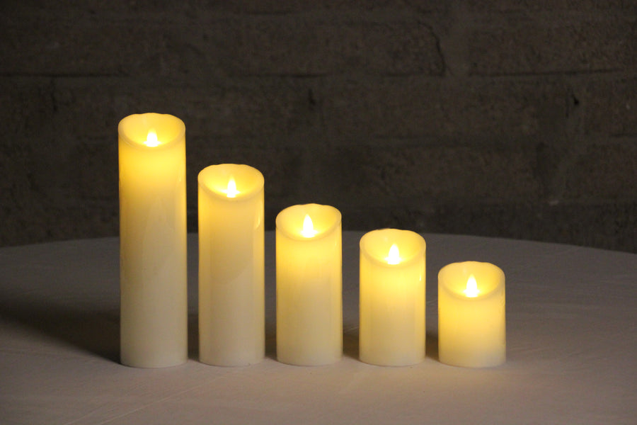 Battery Operated Candles With Timer