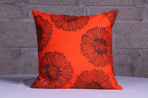 Flower sketch orange