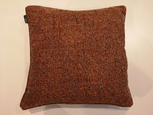 Chunky Weave Rustic Orange Cushion