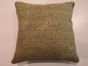 Chunky Weave Soft Green Cushion