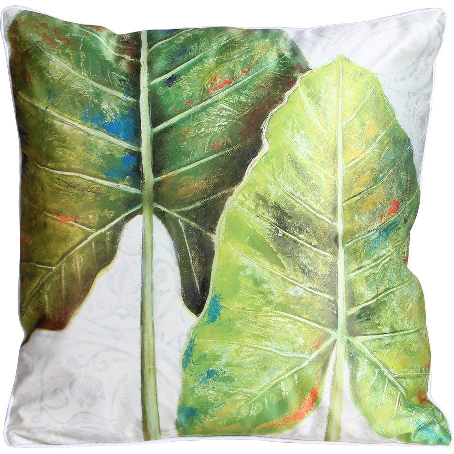 Botanical Flat Leaf Cushion