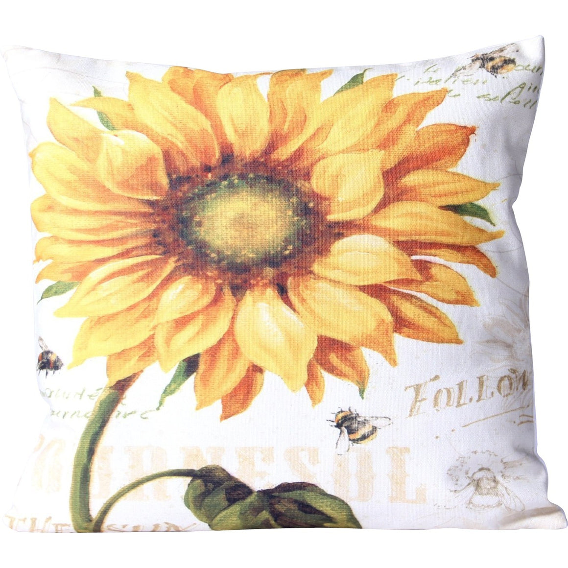 Classic Sunflower Cushion