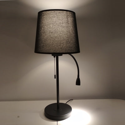Dual Reading Table Lamp Black - Fervor + Hue