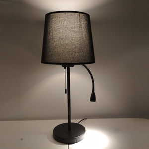 Dual Reading Table Lamp Black