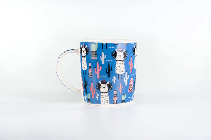 Mug Collection Lama Lovelies Set of 4