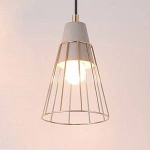 Delight Cone Soft Gold Ceiling light Pendant
