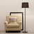 Studio Floor Lamp Black ML760 - Fervor + Hue
