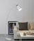 Watchman Floor Lamp White PT - Fervor + Hue