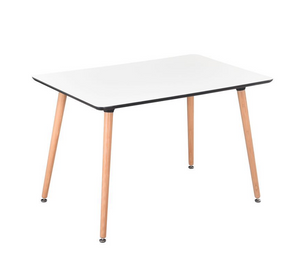 Eames Style Dinning Table with scratch proof surface - Available Now