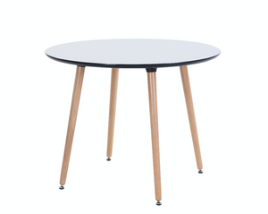 Eames Style Round Dinning Table with scratch proof surface - Available Now