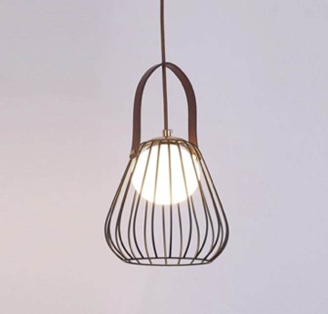 Handbag Ceiling Light Pendant Black - Fervor + Hue