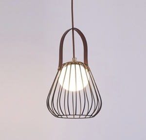 Handbag Ceiling Light Pendant Black